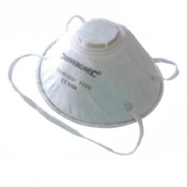 FFP3 valved moulded dust mask