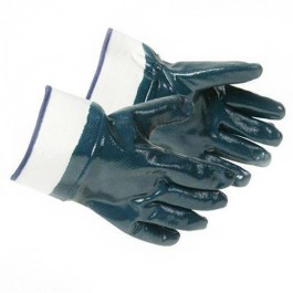 Jersey Lined Nitrile Gloves