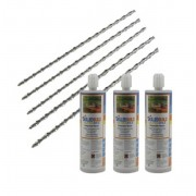 CRACK REPAIR KITS - POLYESTER RESIN 5 BAR KIT