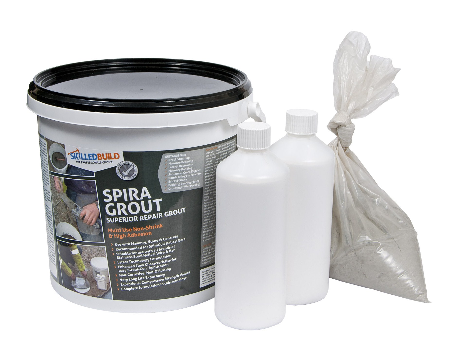 SpiraGrout Masonry Repair Grout
